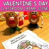 Who Stole Mrs Potato's Heart? Valentine's Day Crime Scene