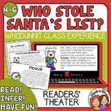 Who Stole Santa's List? Christmas Activities-  MYSTERY Rea