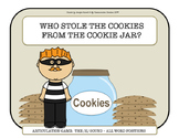 Who Stole The Cookies From The Cookie Jar? Game for /K/ All Word Positions