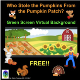 Who Stole The Pumpkins From The Pumpkin Patch : FREE Green Screen Activity