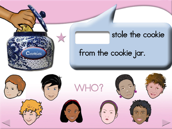 Who Stole the Cookie - Animated Step-by-Step Song - Regular