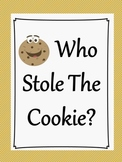 Who Stole the Cookie? (Game to develop memory and number ID skills)