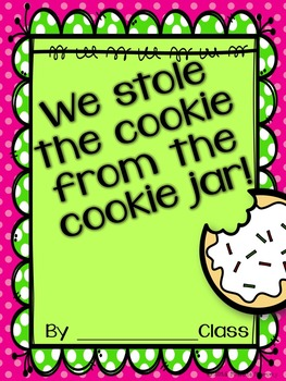 Who Stole the Cookie from the Cookie Jar: {Editable} Name Activity