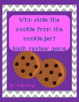 Who Stole the Cookie from the Cookie Jar review game