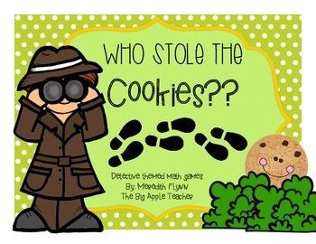 Who Stole the Cookies? - Differentiated Math Games focused