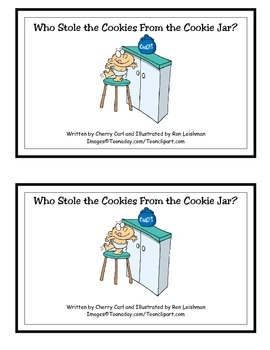 Who Stole the Cookies From the Cookie Jar? -ole Family Guided Reader