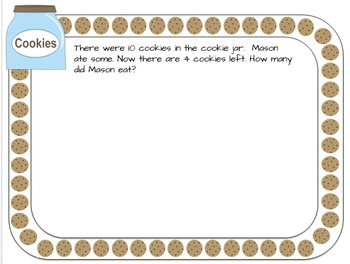 Who Stole the Cookies Math
