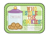 Who Stole the Cookies: Number Sort