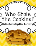 Who Stole the Cookies {Police Investigation}