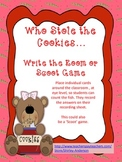 Who Stole the Cookies- Ten Frame Write the Room