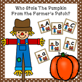 Who Stole the Pumpkin? - (Upper and Lower Case Letter Practice)