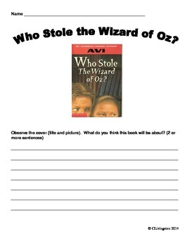 Who Stole the Wizard of Oz by AVI