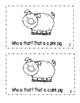 "Interactive Sight Word Reader- ""WHO Is THAT on the Farm?"" with color words"