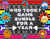 Who Took? Games BUNDLE for a Year