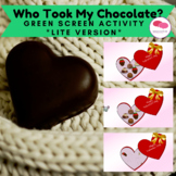 Who Took My Chocolate? Green Screen Activity FREEBIE*