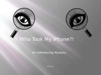 Who Took My iPhone - An Inferencing Mystery