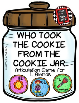 Who Took the Cookie From the Cookie Jar - Articulation Gam