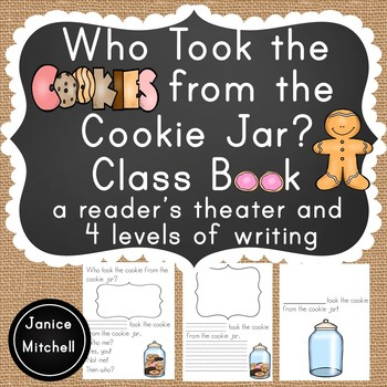 Who Took The Cookie From The Cookie Jar Book New Who Took The Cookie From The Cookie Jar Classbook For K60 By Janice