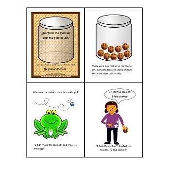 Who Took the Cookies?: A READ TO LEARN Book About Number Words