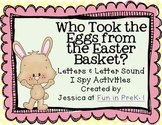 Who Took the Eggs from the Easter Basket? Letters & Letter Sound I Spy