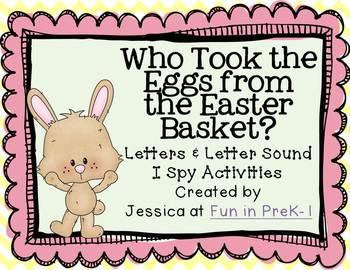 Who Took the Eggs from the Easter Basket? Letters & Letter