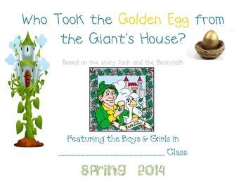 Who Took the Golden Egg... Class Book Idea