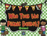 Who Took the Picnic Basket? Game