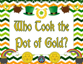 Who Took the Pot of Gold? Game