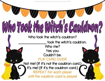 Who Took the Witch's Cauldron? Game
