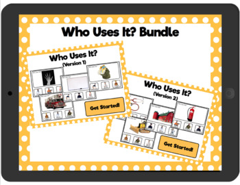 Who Uses It? Bundle: Interactive PDFs