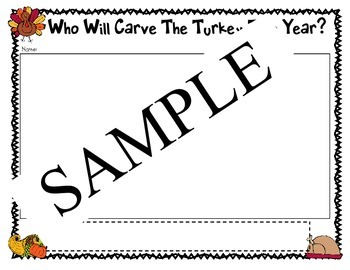 Who WIll Carve the Turkey This Thanksgiving