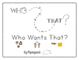 Who Wants That?:  A Core Vocabulary Book for Early Readers