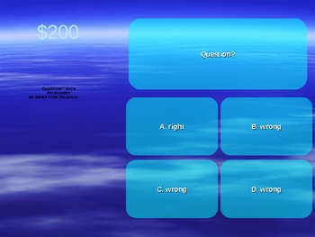 Who Wants To Be A Millionaire Concept Review Game (Powerpoint)