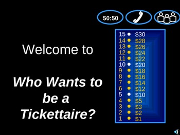 Who Wants To Be A Millionaire? Game Template
