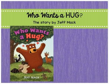 Who Wants a Hug? (Book Companion)