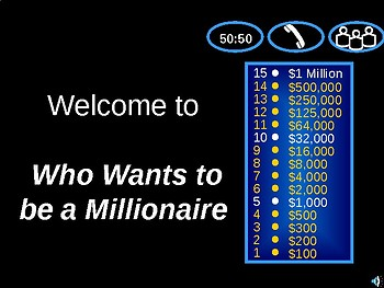 Who Wants to Be A Millionaire Astronomy Review