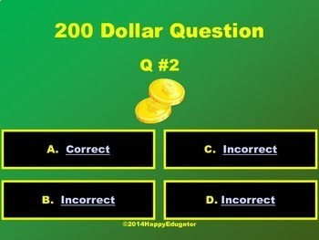Who Wants to Be Rich PowerPoint Game Template -