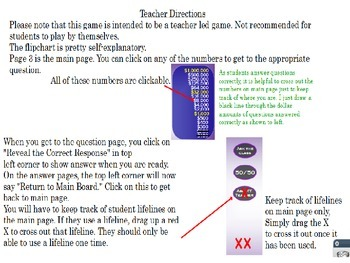 Who Wants to Be a 5th Grader Interactive Trivia Game End of Year ~ PowerPoint ~