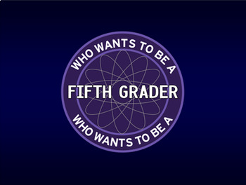 Who Wants to Be a Fifth Grader? 12 Fun Math Review PowerPoints