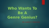Who Wants to Be a Literary Genre Genius