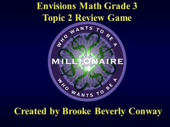 Who Wants to Be a Millionaire Envisions Topic 2