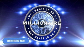 Who Wants to Be a Millionaire (Google Slides Game Template) by ROOMBOP