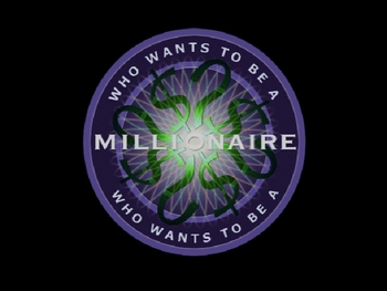 who wants to be a millionaire (just graphics) power point template, Powerpoint templates