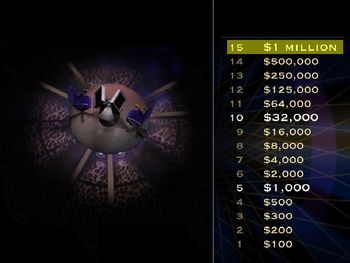 Who Wants to Be a Millionaire (Just Graphics) Power Point Template