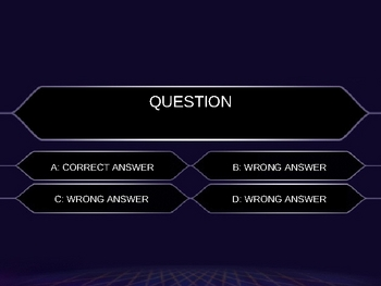 Who Wants to Be a Millionaire Power Point Template
