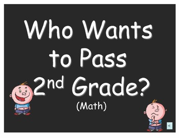 Who Wants to Pass 2nd Grade?