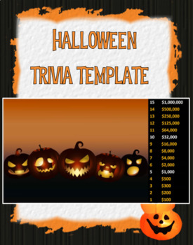 Halloween Trivia (template-add your own questions)