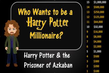 Who Wants to be a Harry Potter Millionaire? Harry Potter&The Prisoner of Azkaban