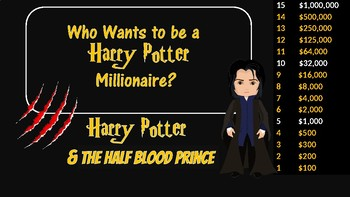 Who Wants to be a Harry Potter Millionaire: Harry Potter & the Half-Blood Prince