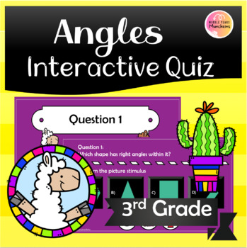 Who Wants to be a Millionaire: 3rd Grade Angles